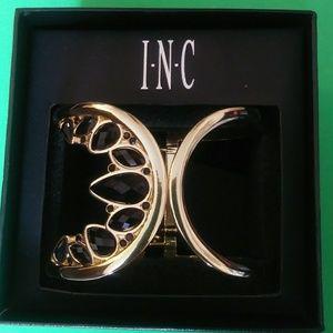 Asymmetrical Open Cuff Bracelet